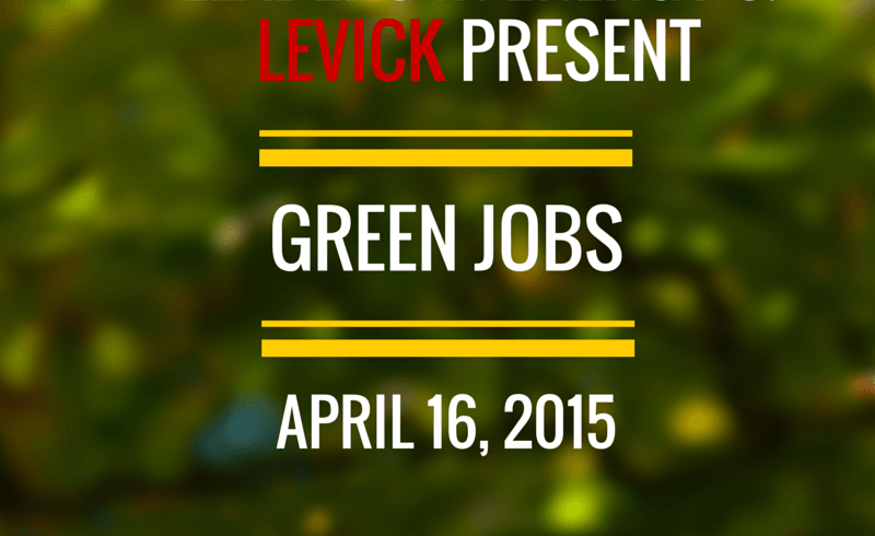 Are You Looking for a #Green Job or to Create a #Green Business?