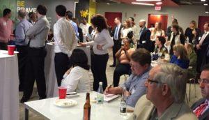 Attendees listening to Dan Smolen's engaging presentation.