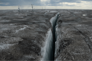 Greenland's Dark Ice