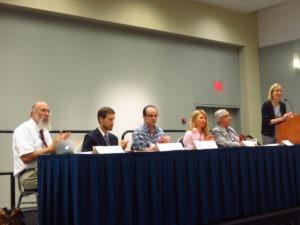 Bioeconomy panel: LTR Scott Sklar, Erick Lutt, Dan Smolen, Kristen Johnson, Bill Brandon, Janine Finnell