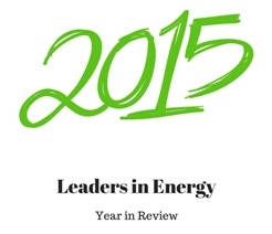 Leaders in Energy 2015 Year in Review