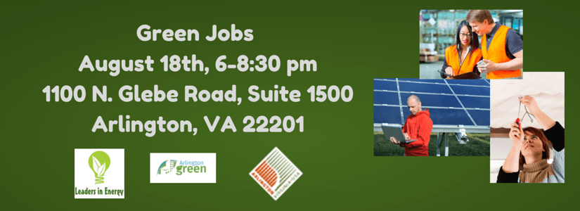 Green Jobs Logo for Flier