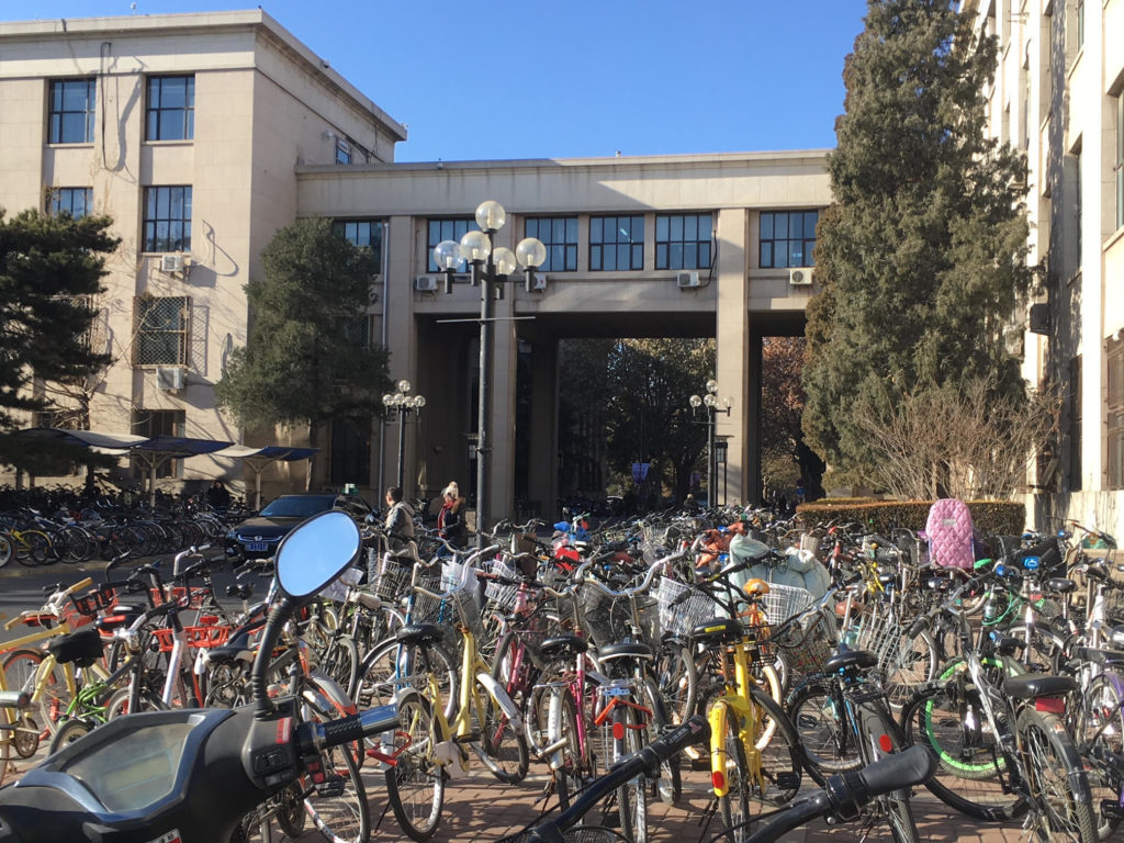 Tsignhua University Campus and Bikes