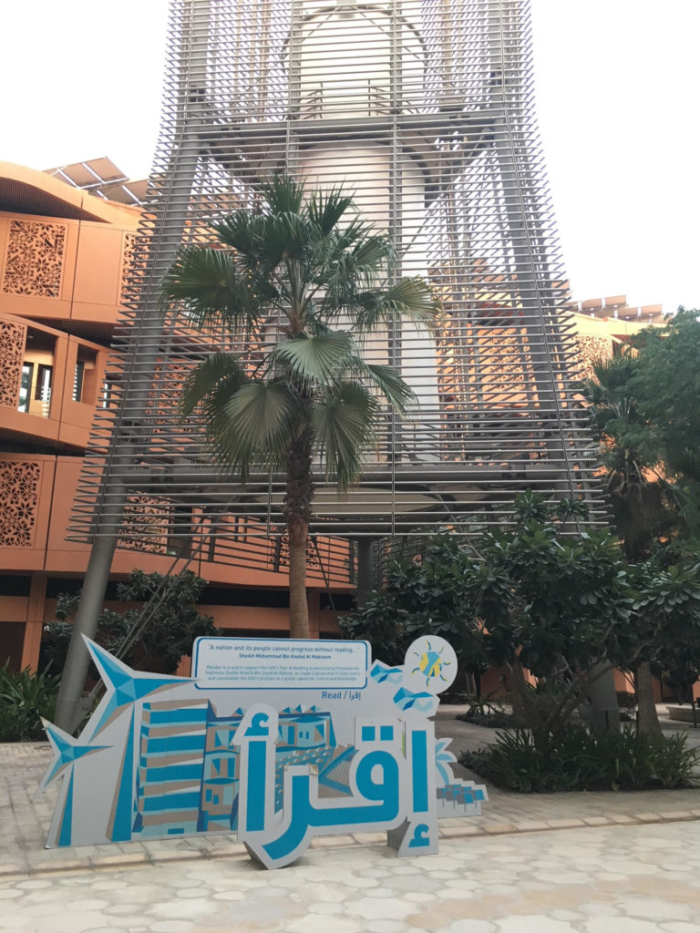 Masdar wind towers