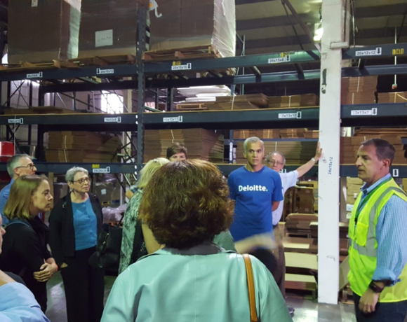Circular Economy Working Group Tour of C2 Management facility, September 22, 2018
