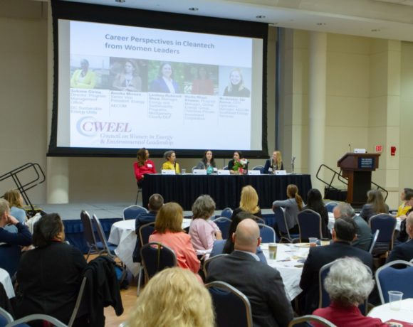 The Council on Women in Energy and Environmental Leadership (CWEEL) Luncheon Panel: Career Perspectives in Cleantech from Women Leaders