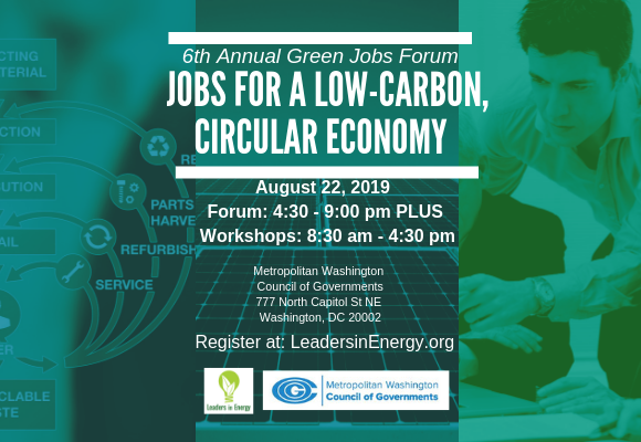 Impressive Speaker Line-Up for Green Careers DC Event! Terrific networking + education if you are interested in green jobs and the green economy!