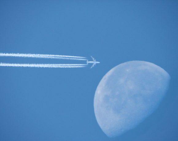 An Airplane's Footprint