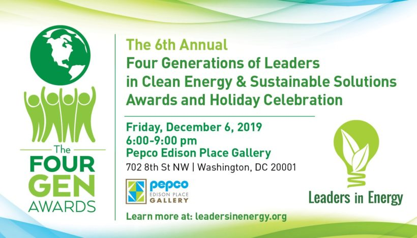 The Four Generation Awards ─ Honoring Green Leaders of All Ages