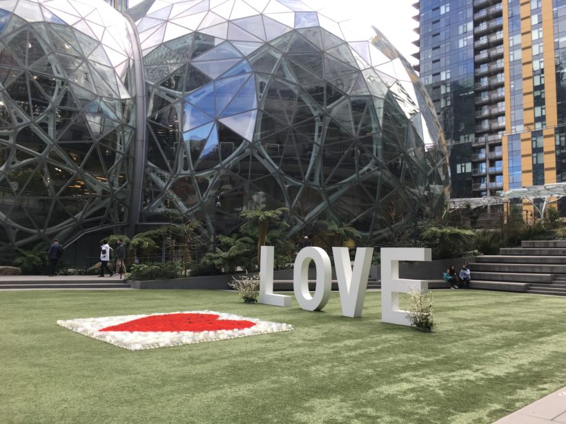 Amazon's Spheres: Embracing Biophilia and Inspiration from Nature