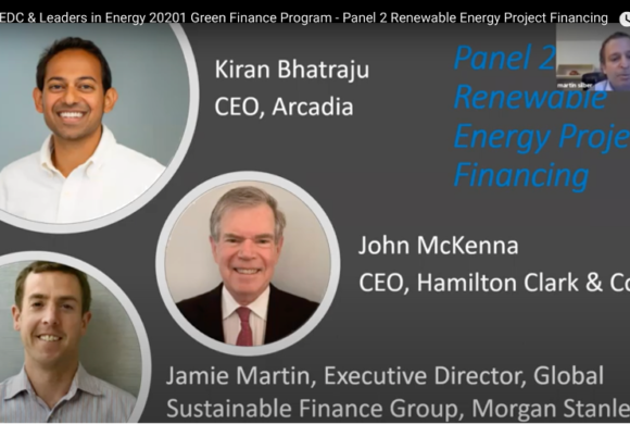 PEDC & Leaders in Energy Green Financing: Panel 2